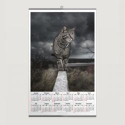 Projekt kalendarza jednoplanszowego