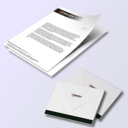 Projekt koperty/ Papieru firmowego